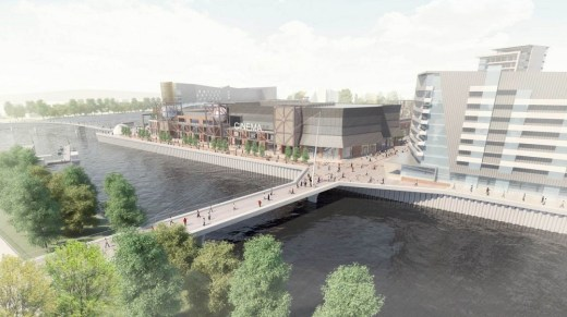 Glasgow Harbour Masterplan buildings