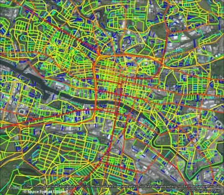 District Regeneration Frameworks Glasgow Space Syntax