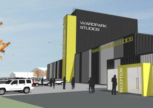 TV and film studio facility in Cumbernauld