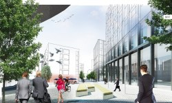 Anderston Quay masterplan by Keppie