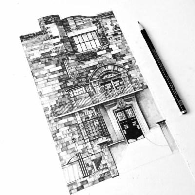 Glasgow School of Art building work in progress