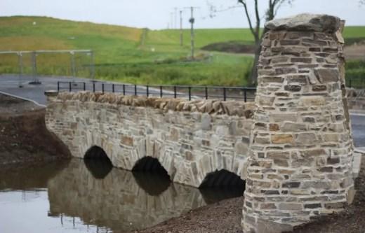 Glenlivet Distillery road-bridge
