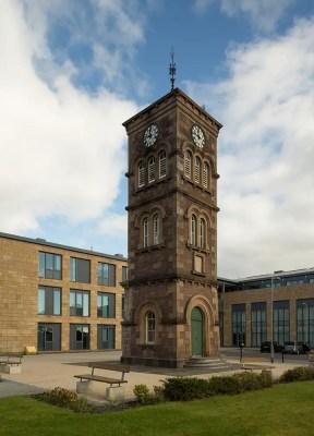 Clock Tower Stornoway building