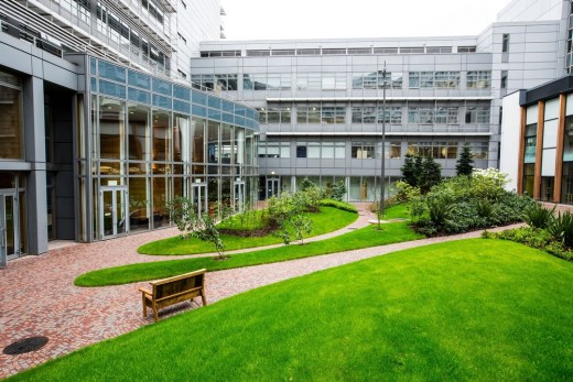 Glasgow Caledonian University Heart of the Campus Building