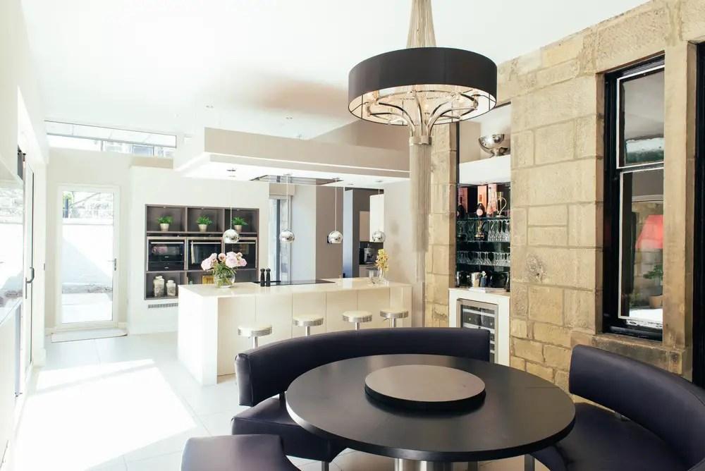 Stunning extended kitchen in Glasgow by Kitchens International