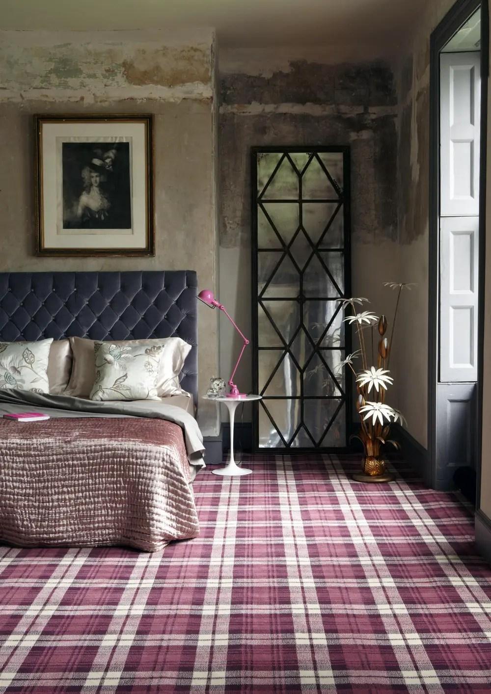 Scottish Tartan Home Interior Design | www.glasgowarchitecture.co.uk