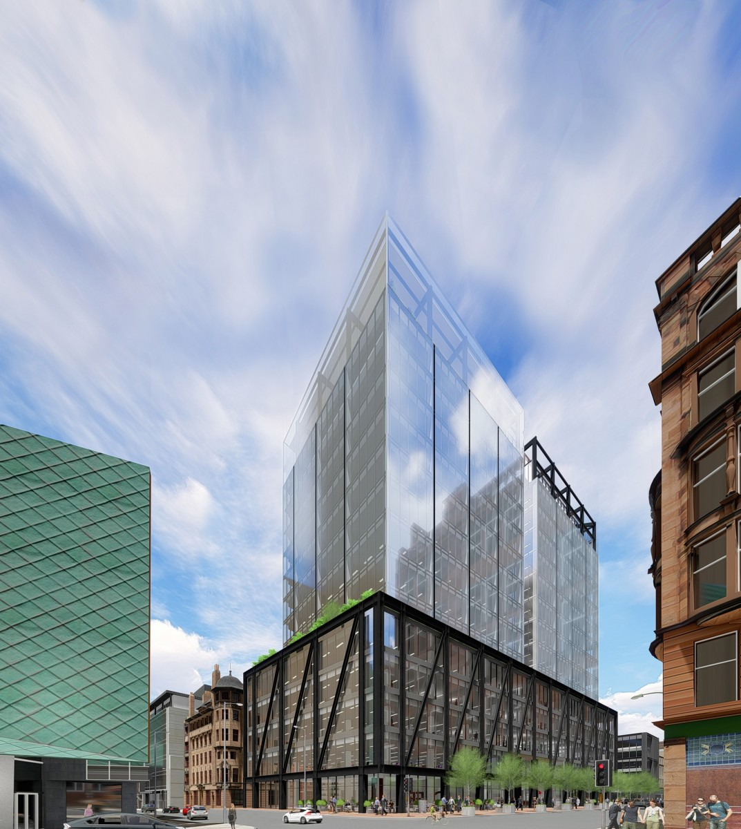 Argyle Street office building Glasgow