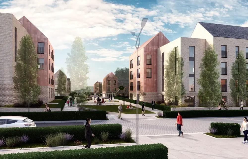 Sighthill Transformational Regeneration Area (TRA) Glasgow