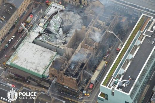 Glasgow School of Art Fire in June 2018