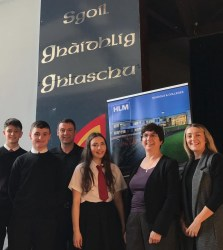 HLM Partnership with Glasgow Gaelic School through Developing the Young Workforce