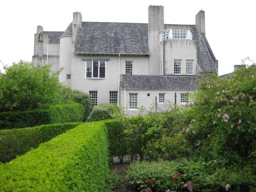 Hill House by architect Charles Rennie Mackintosh