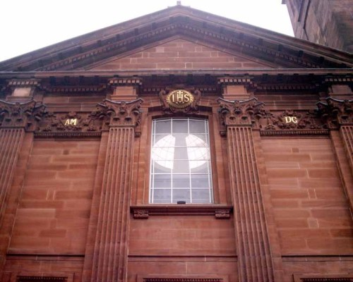 St Aloysius' Church Glasgow building facade