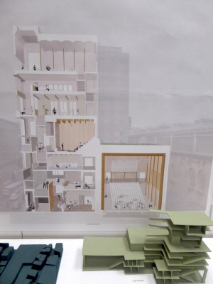 Mackintosh School of Architecture Degree Show 2019 design by Stage 4 Architecture student Ella Walklate