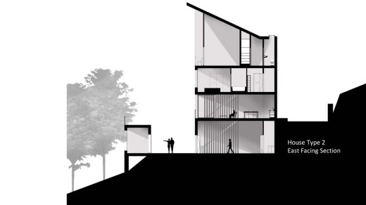 Stage 2 proposal for New Lanark by Mackintosh School of Architecture student