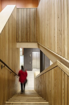 New Gorbals Housing Association stairs design by Page\Park Architects
