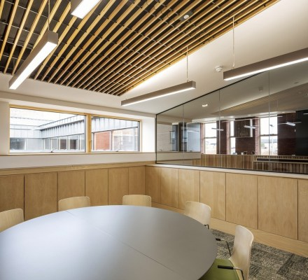 New Gorbals Housing Association office interior design by Page\Park Architects