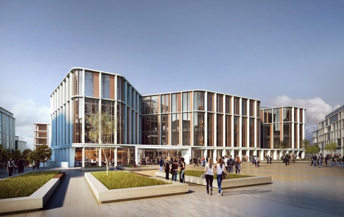 University of Glasgow New Research Hub building design