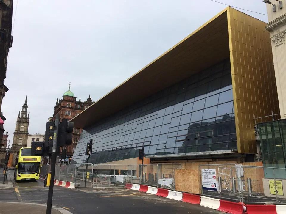 Glasgow Queen Street Station building facade