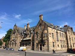 Pearce Institute Govan building stone facade