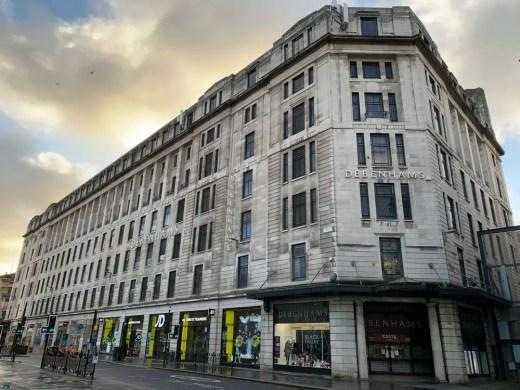 Glasgow Debenhams store Argyle Street