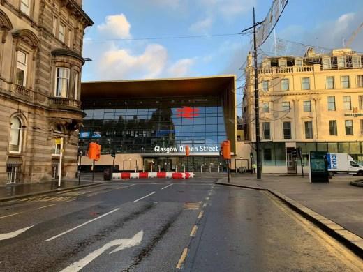 Glasgow Queen Street Station building