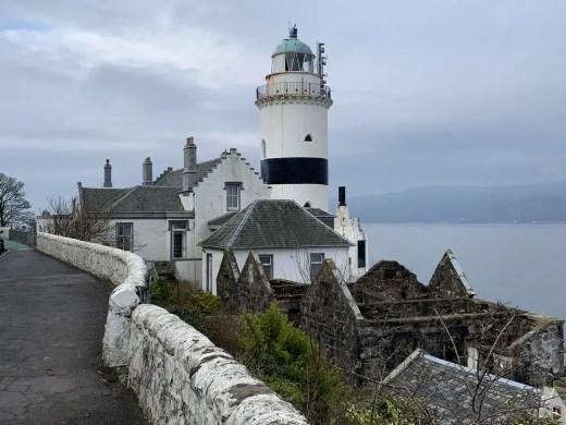 Cloch Lighthouse Gourock buildings