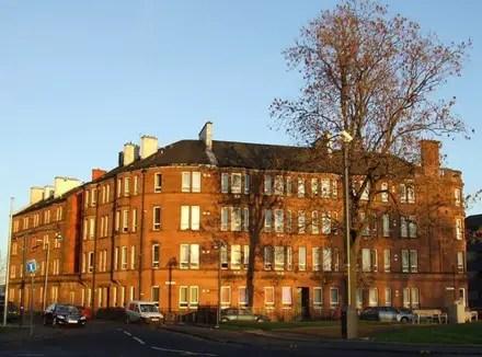 historic tenement flat in Glasgow