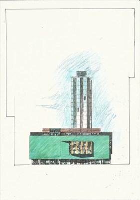 Radisson Hotel Glasgow design by architect Alan Dunlop