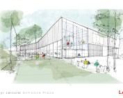 New Ayr Leisure Centre building design
