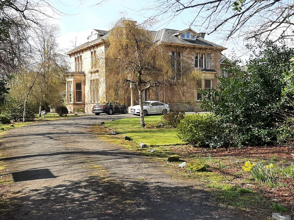 Pollokshields Mansion for sale by DM Hall St Andrew's Drive property