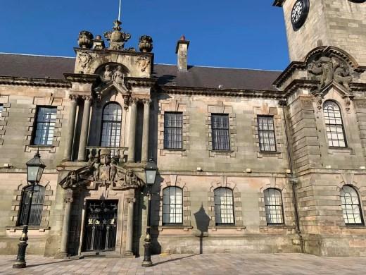 Clydebank Town Hall municipal building