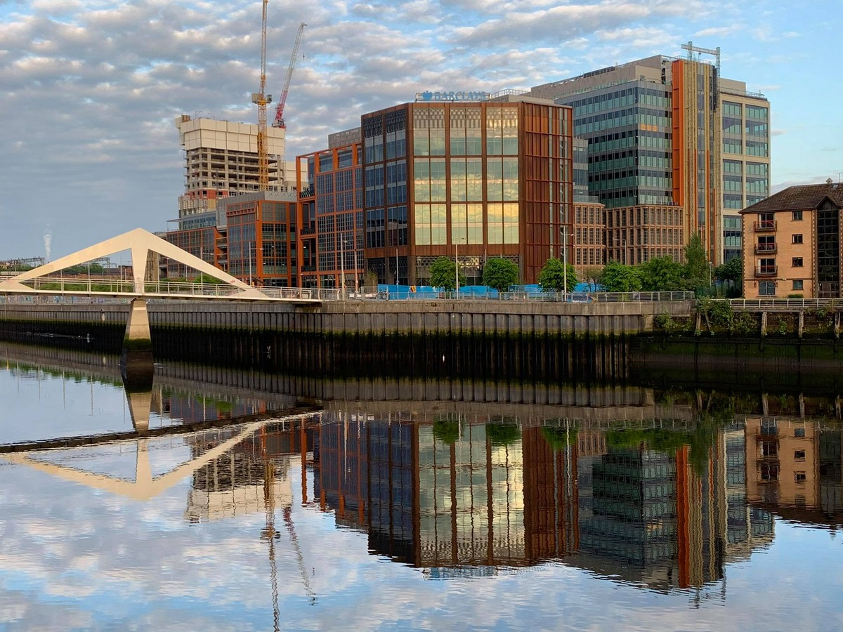 River Clyde Glasgow building - new offices