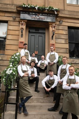 Unalome Finnieston restaurant Glasgow chefs