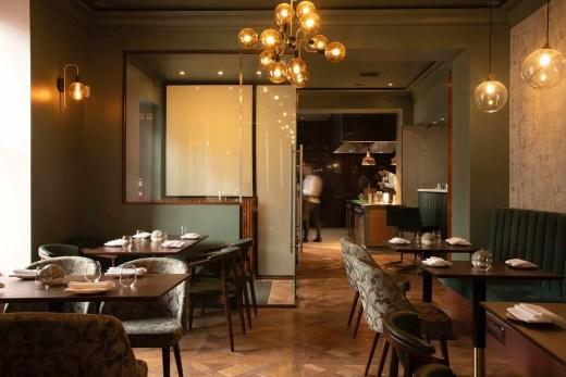 Unalome Finnieston restaurant Glasgow interior