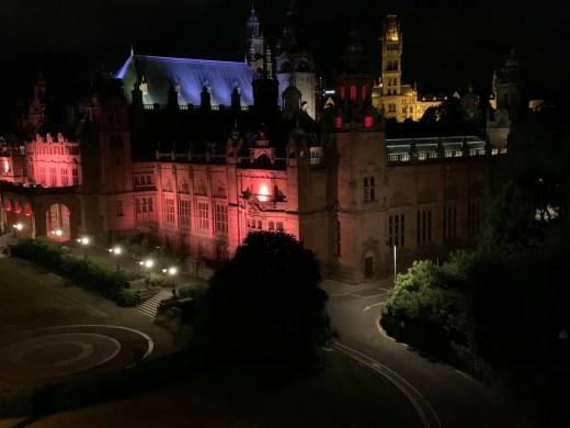 Kelvingrove Art Gallery Glasgow lighting