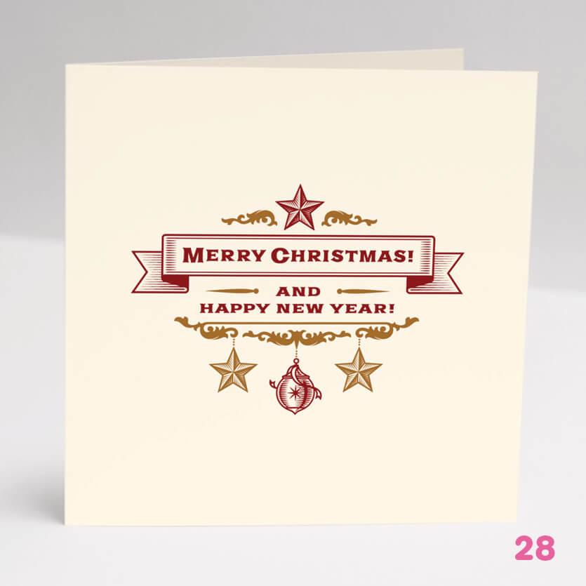 Merry Christmas Card 2- Glasgow Creative
