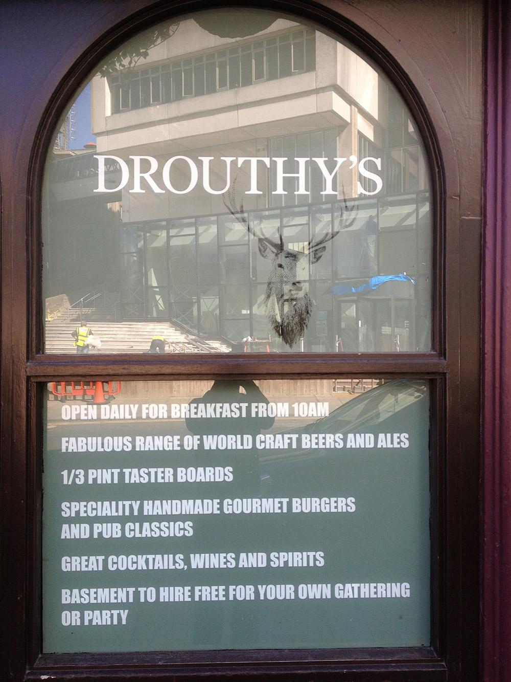 Drouthys - Glasgow Creative