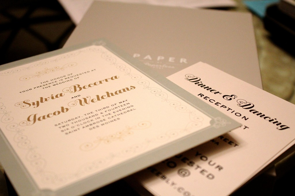 Wedding Printing Glasgow