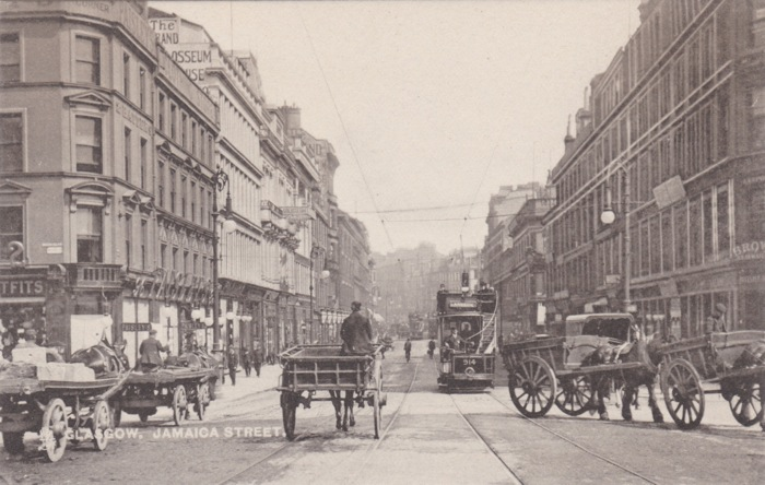 Jamaica Street Horses and Carts, Glasgow 1