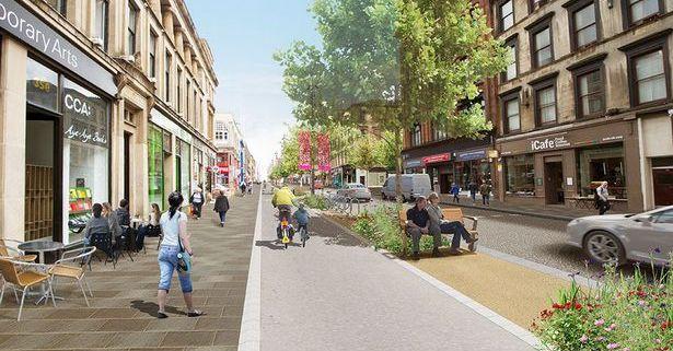 Sauchiehall Avenue project
