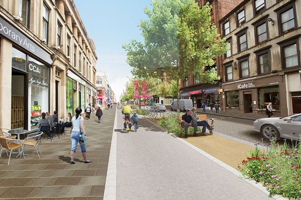 Sauchiehall Avenue project