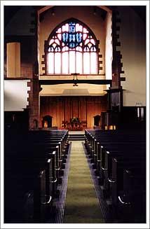 Inside Queens Cross Church
