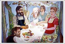 Alasdair Gray Mural