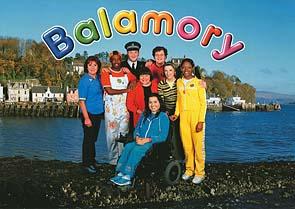 Photo: Balamory cast members.