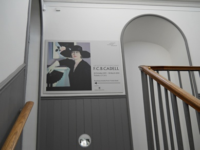 Photo: F.C.B. Cadell Exhibition Edinburgh.