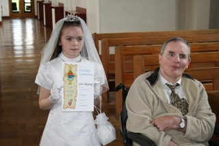 Photo: caitlin communion.