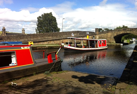 Photo: Linlithgow Canal boat.