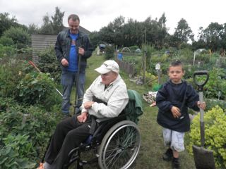 Photo: john ryan allan allotment.