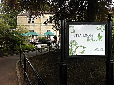 Photo: Tea Room in the Botanic Gardens.