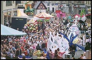 Photo: Festival parade 2003.